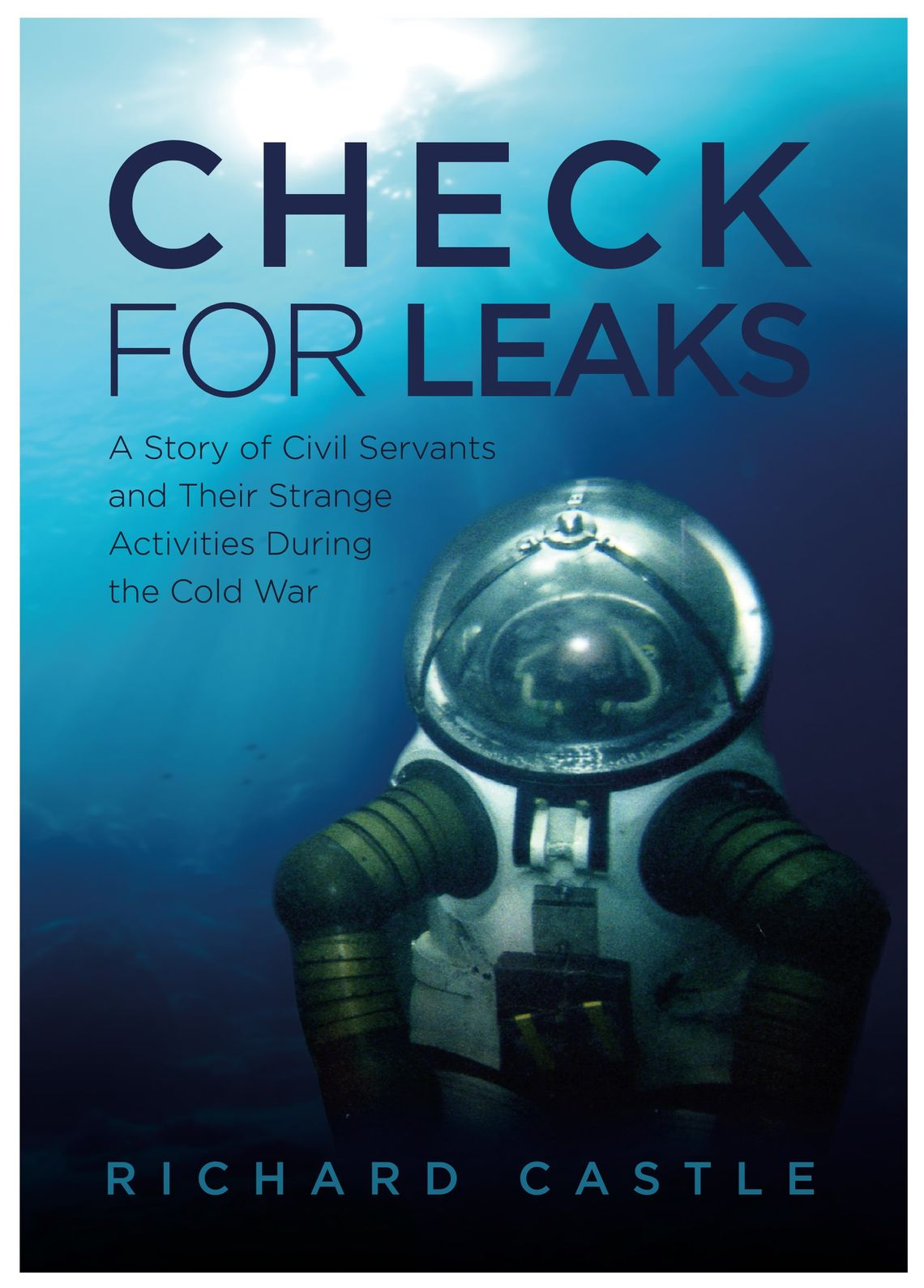 Book release: 'Check for Leaks' by Richard Castle