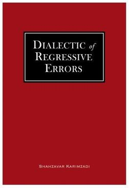 Dialectic of Regressive Errors cover
