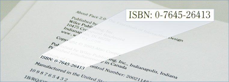 ISBN registration