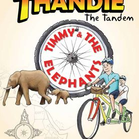 Guest blogger, Claire Le Hur, author of The Adventures of Thandie the Tandem, explains her publishing journey and the inspiration behind the book.  The Adventures of Thandie the Tandem was published by the Self Publishing Partnership in June 2018. A second book in the series will be published in spring 2019, of course, also with SPP. We really enjoyed working with Douglas and the team and we were impressed by the speed at which they could publish a really lovely book.    ...    This illustrated book for children aged 5- 9 is the latest venture from Beyond the Bike which was set up by my husband, Stuart in 2011. Beyond the Bike is a project aimed at raising money and awareness for education in the developing world. Stuart has ridden Thandie the Tandem bicycle through Europe, Africa and Asia. His first trip was solo and took them from South Africa back to London. I joined him for his second trip cycling again in Africa – from Kampala to Cape Town and then from Singapore to Shanghai. Stuart and Thandie have cycled through more than 30 countries, covering more than 20,000 miles together. They always leave the back seat free to pick up local people and have friends join them. They have given lifts to more than 300 people, many of whom are included in our books. On our trip I rode a single bamboo bike, made by a social enterprise in Kampala. Since 2011, we have raised nearly £200,000 for various charities, mostly concerned with education and conservation.    In the book Stuart has become a boy named Timmy.   ...   When Timmy receives a letter from his Uncle Max asking him to come to Africa to help him protect the elephants from poachers, he jumps at the chance to leave London and have an adventure. Max sends Thandie the Tandem to help Timmy reach him in Kenya. But will a boy and a tandem bicycle find their way safely through the different countries, even through the desert? And will they be able to save the elephants from the evil Mr Kubwa?  Timmy and Thandie's adventures