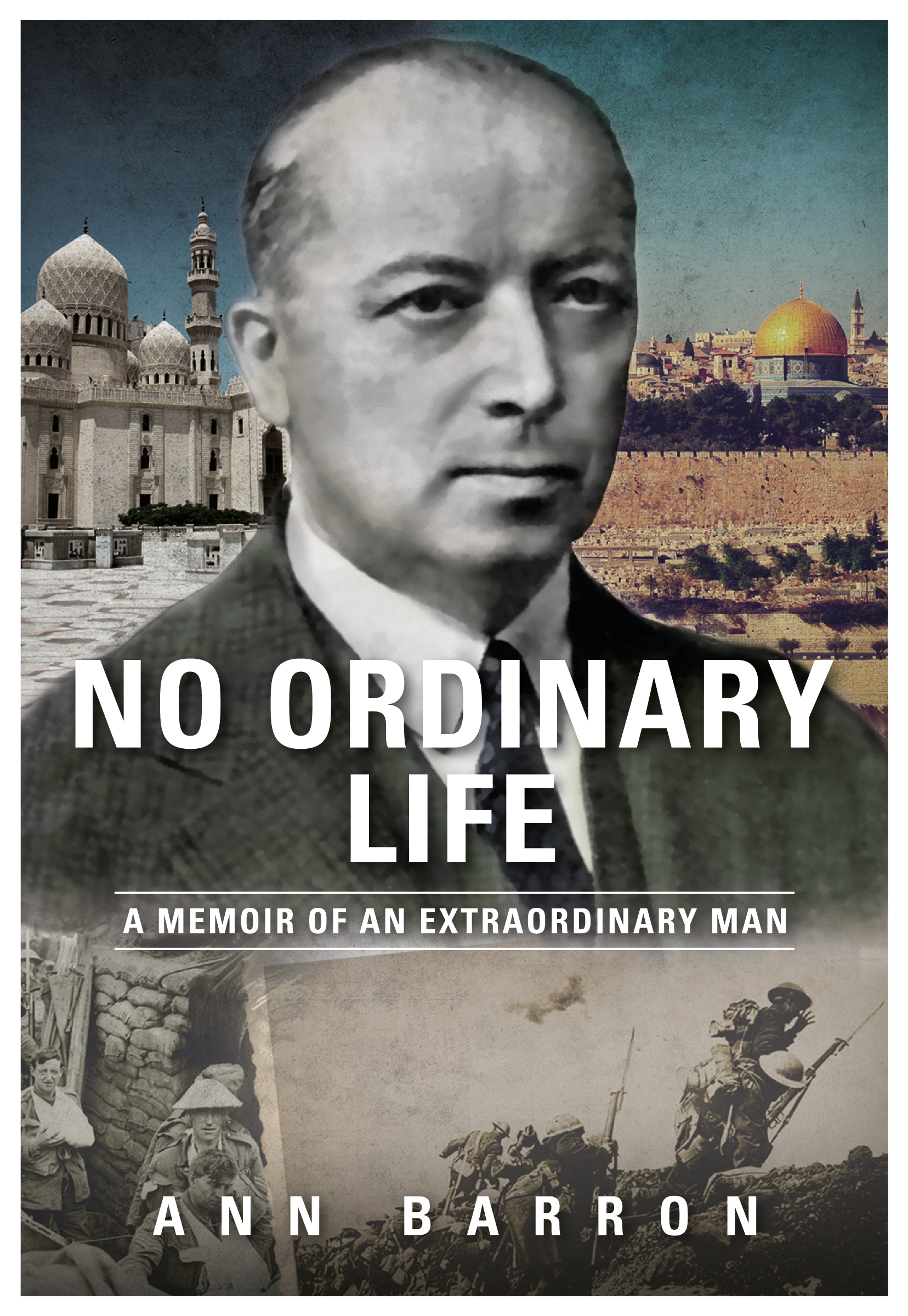 Front cover of No Ordinary Life Book